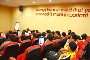 A conducive learning and safe environment at MDIS Singapore