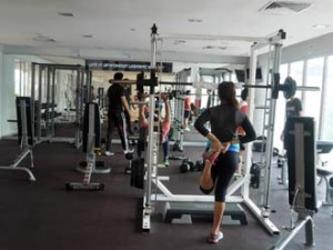 Gym at MDIS Singapore